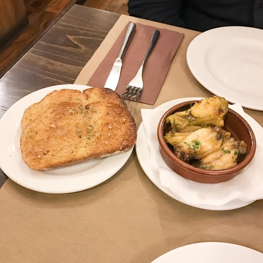 Colom Restaurant starters