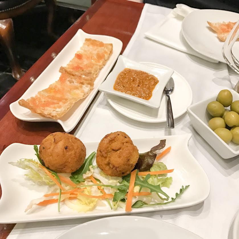 Restaurante Ferran starters
