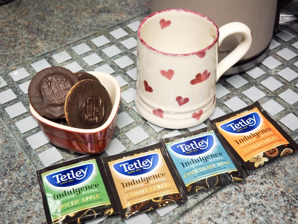 Tetley Indulgence Flavour Blends
