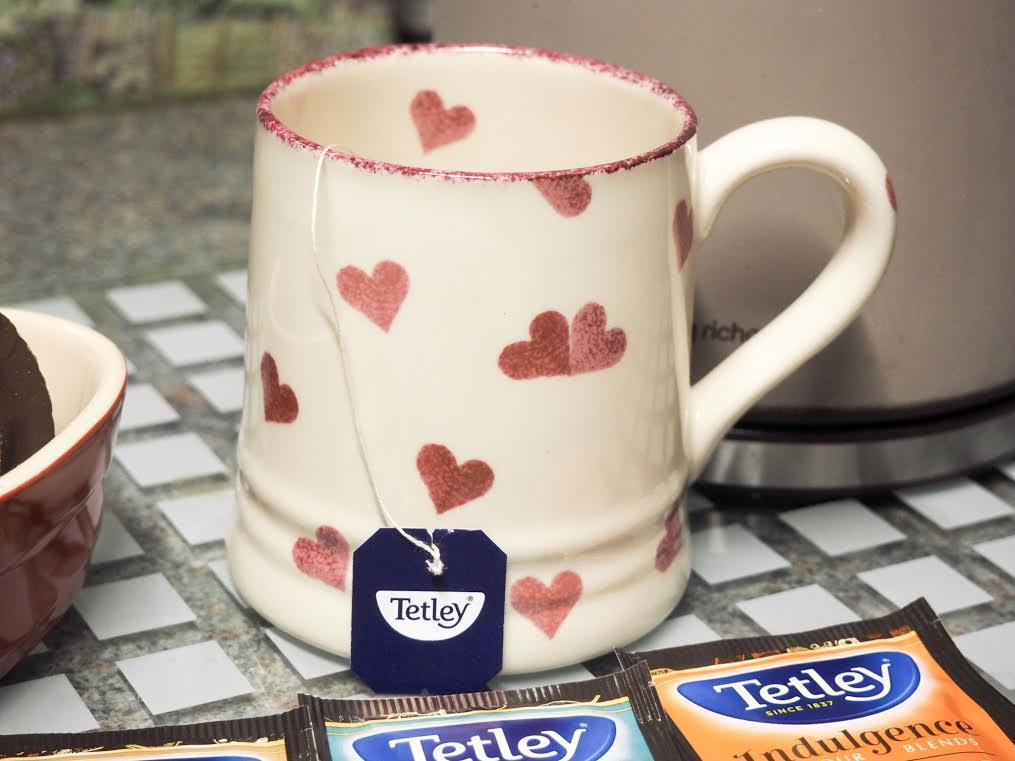 Tetley spiced apple tea