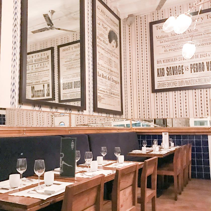 The Grill Room in Barcelona