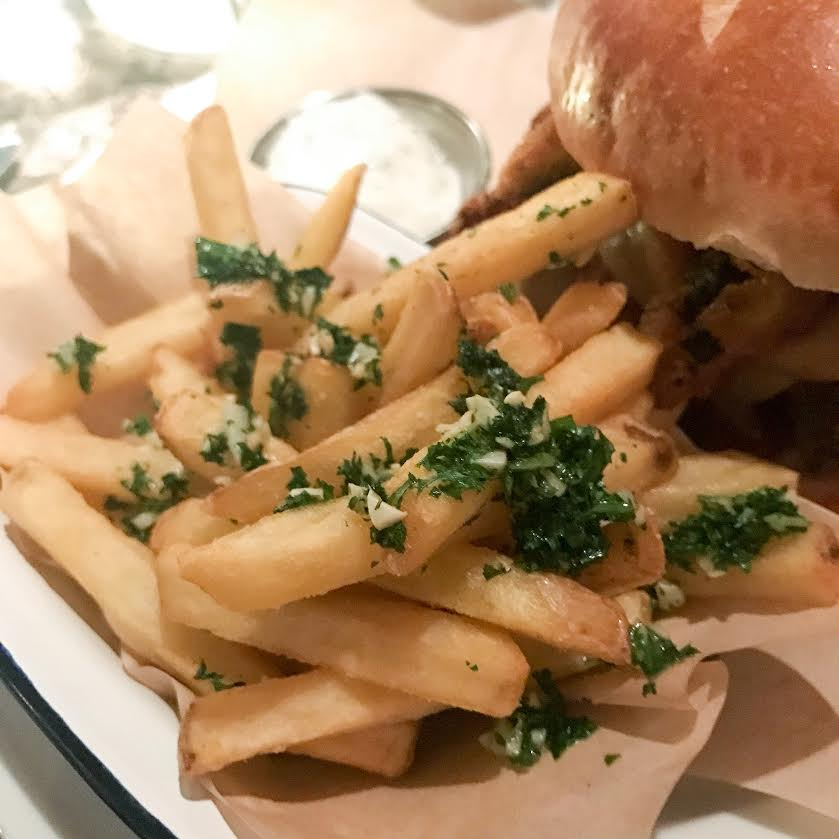 Revolution garlic fries