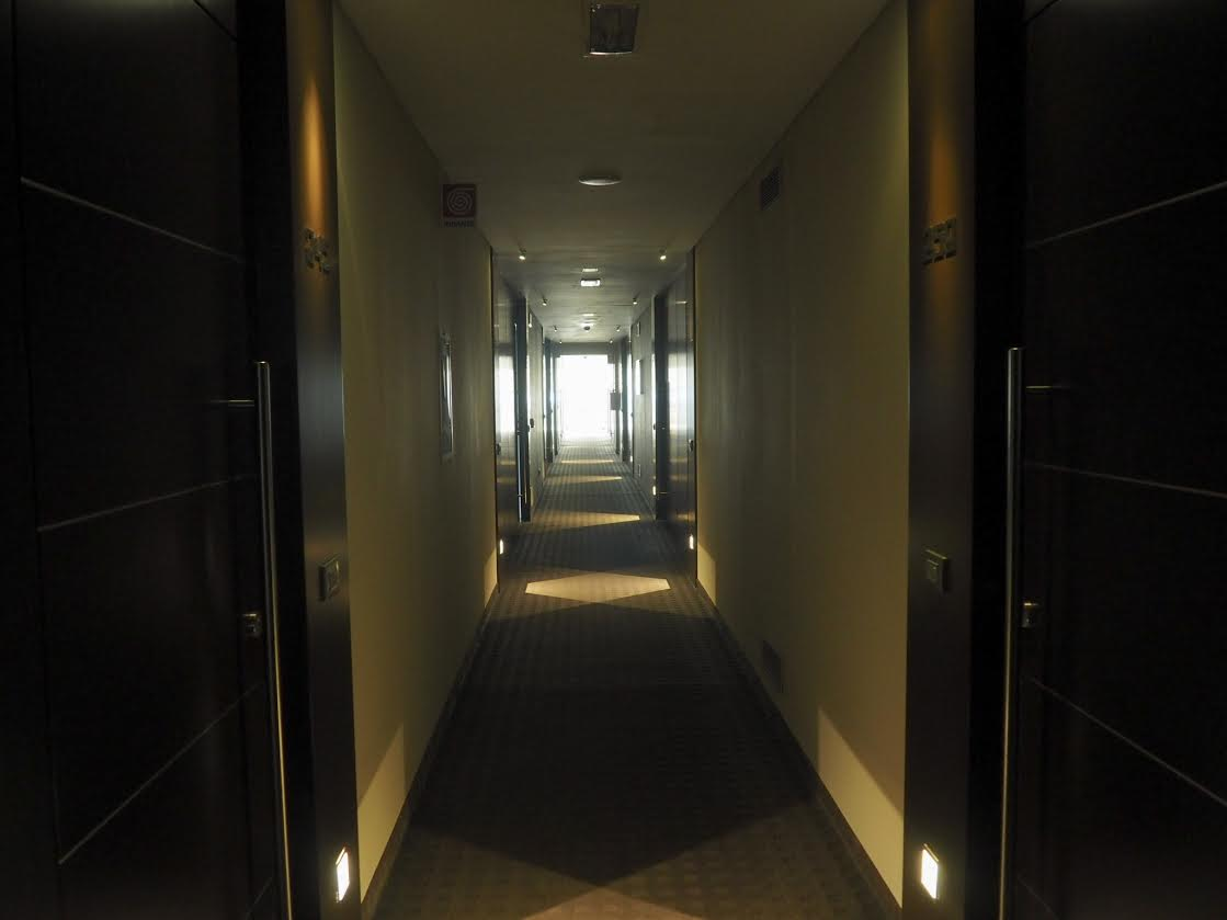 Allegroitalia Tower Plaza in Pisa hallway
