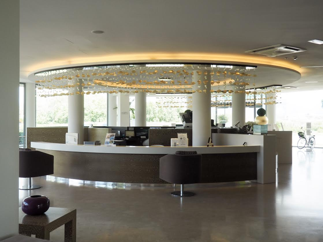 Allegroitalia Tower Plaza in Pisa reception