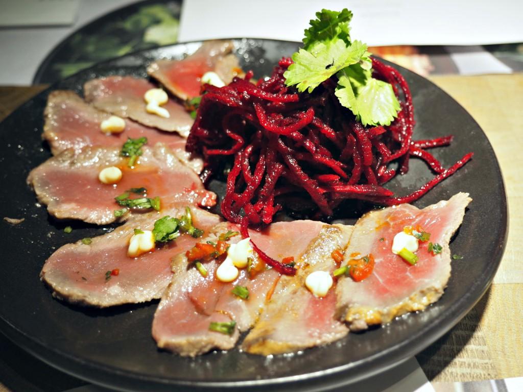 Beef Tataki Wagamama new menu