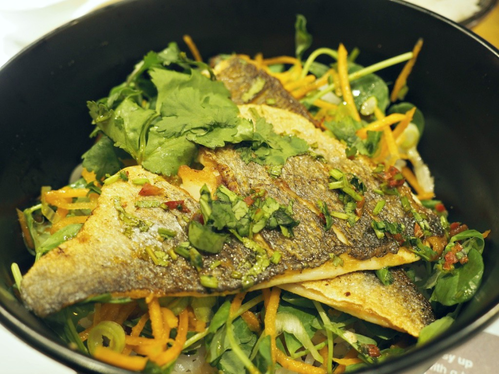 Grilled Bream Donburi Wagamama new menu