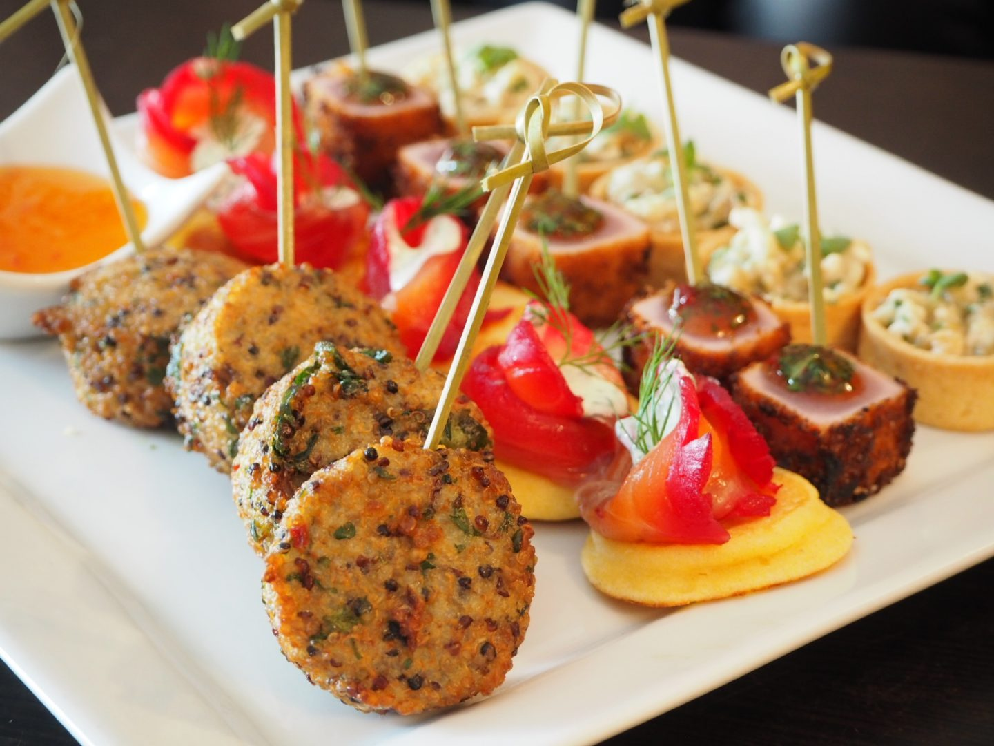 Island Stories canapes