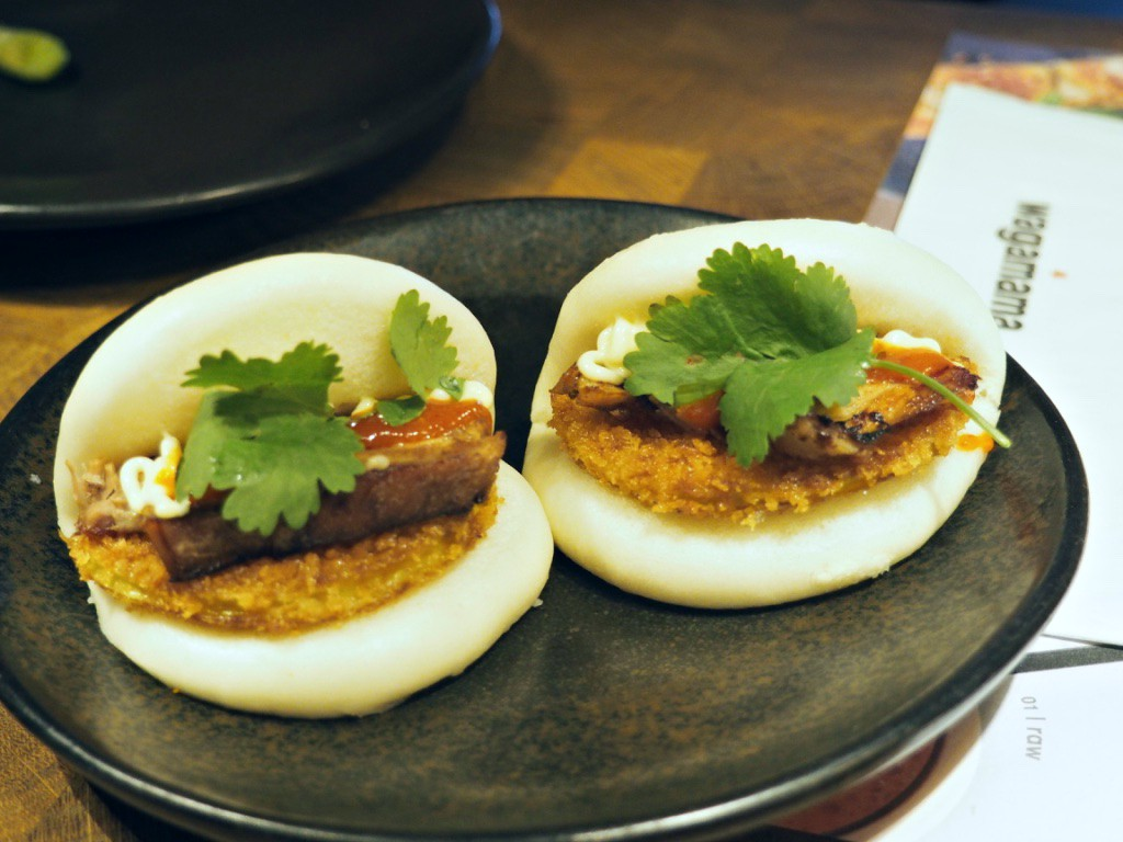 Pork Belly + Panko Apple Hirata Steamed Buns Wagamama