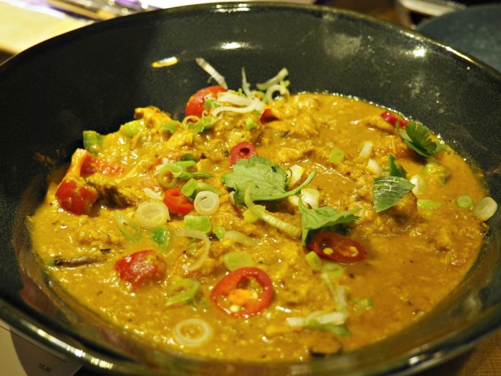 Samla Chicken Curry Wagamama new menu