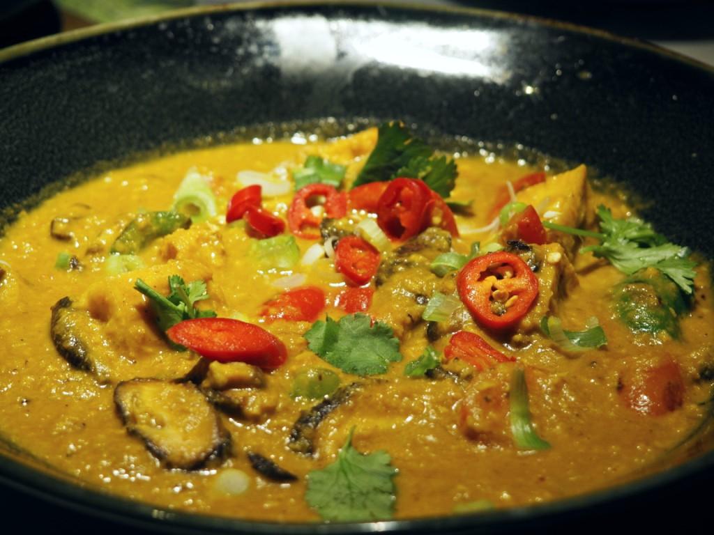 Samla Yasai Curry Wagamama new menu