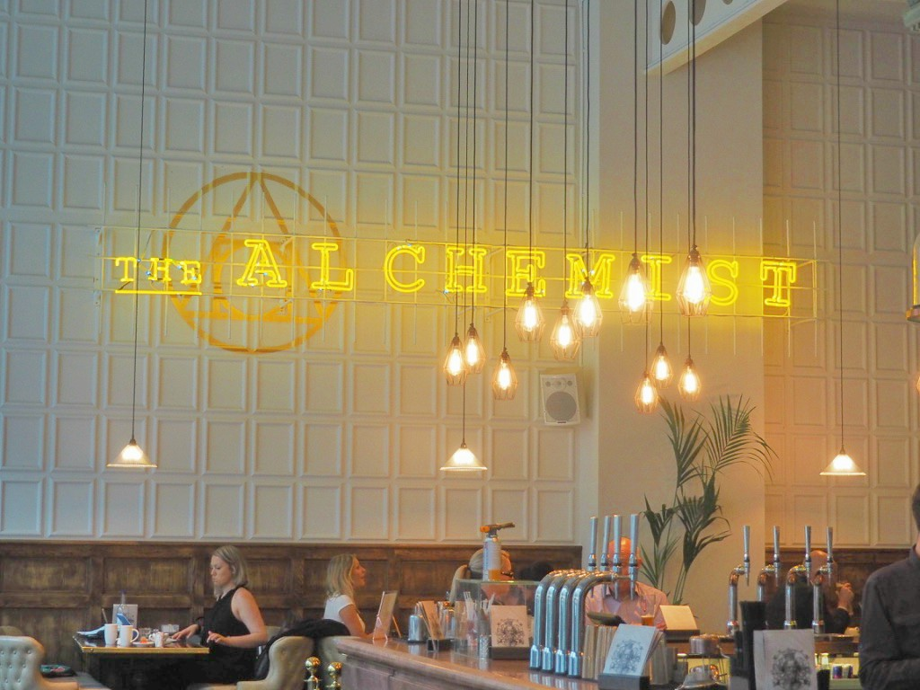The Alchemist at Bevis Marks in London