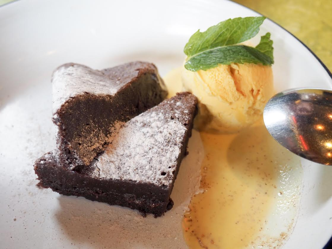 Turtle Bay Dark Chocolate Brownie