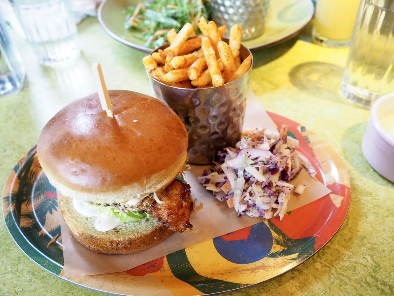 Turtle Bay Two-way Chicken Burger
