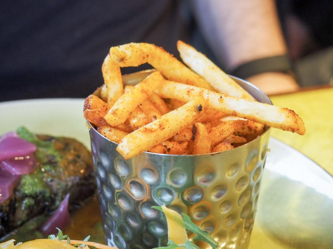 Turtle Bay spiced fries