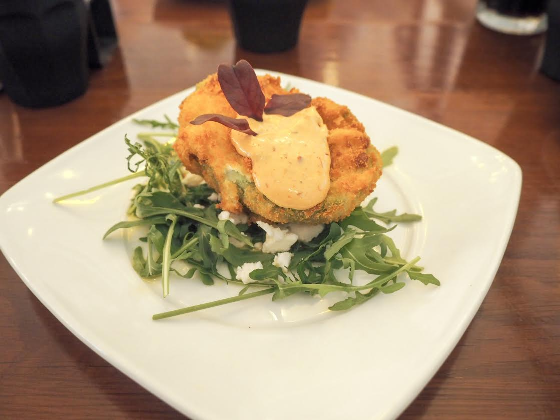 The Alchemist deep fried avocado