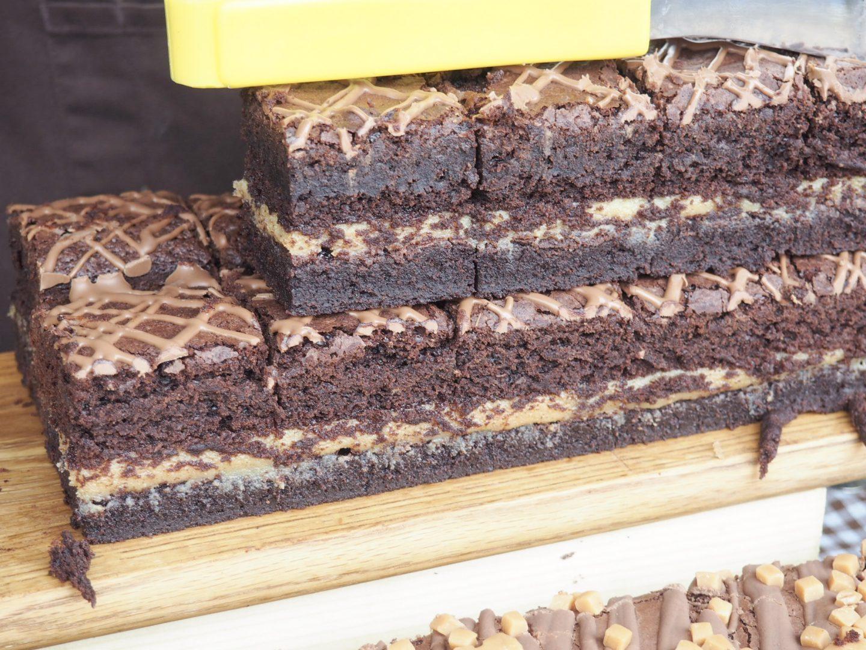Gourmet Brownie salted caramel brownie