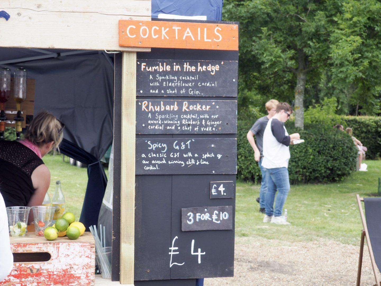 Hedgerow Cordials drinks bar cocktails