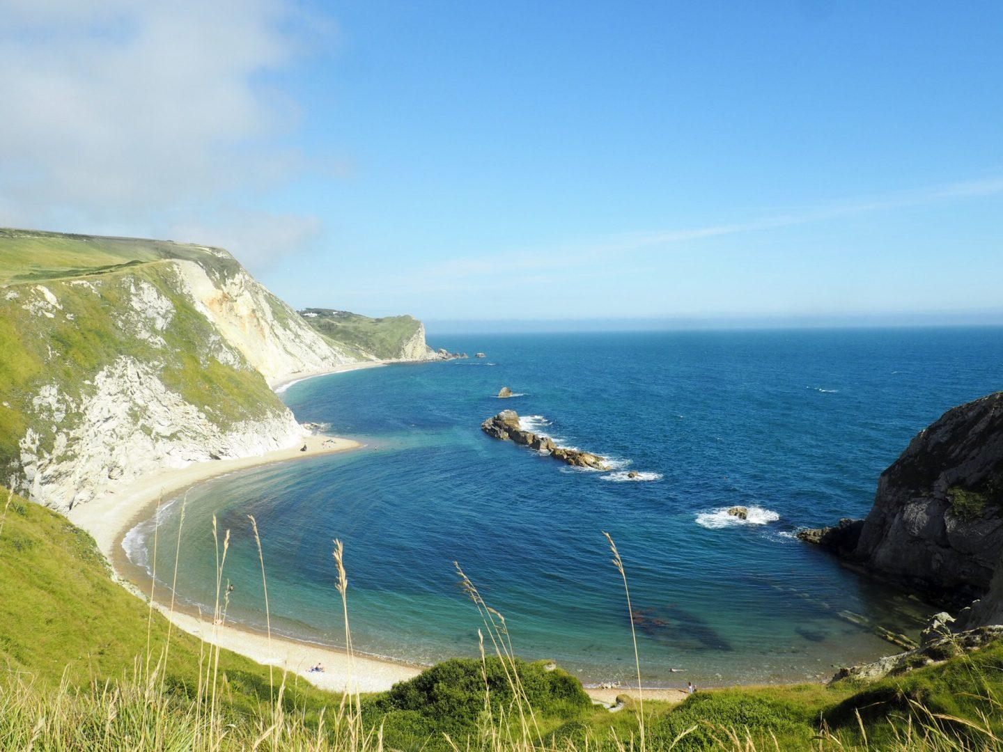 Lulworth Cove in Weymouth