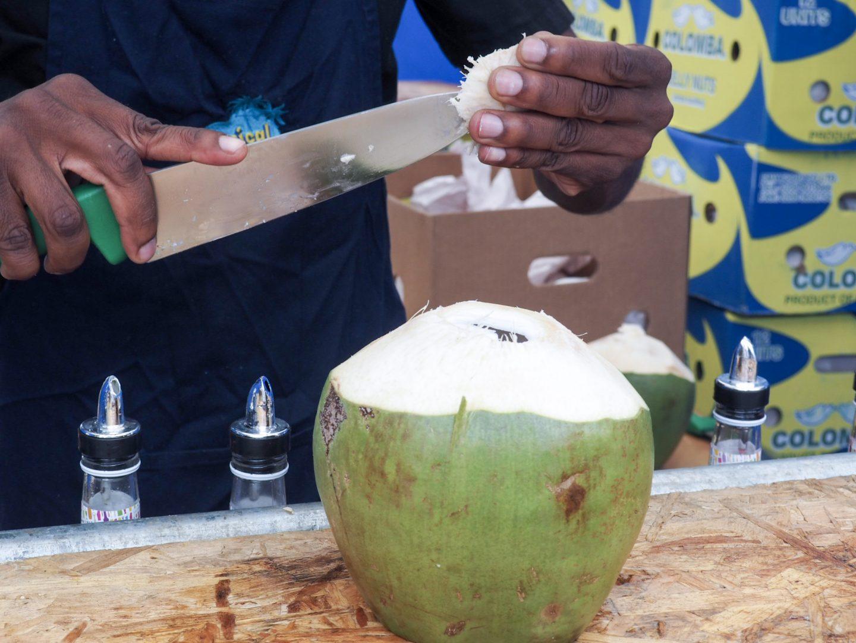 Tropical Grove Coconut Shack drinks