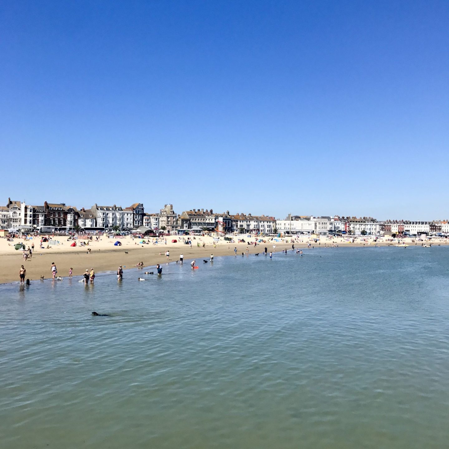 Weymouth best beach in Europe