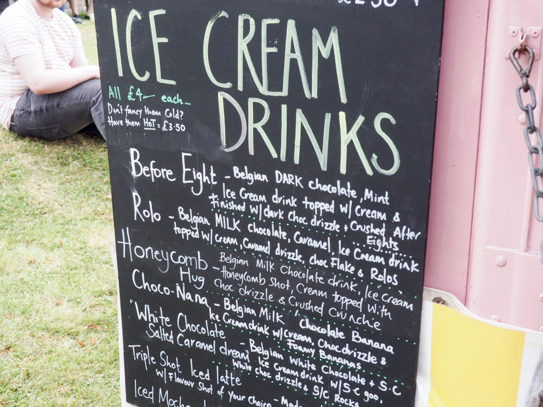 Wilma's Cupcakery ice cream drinks