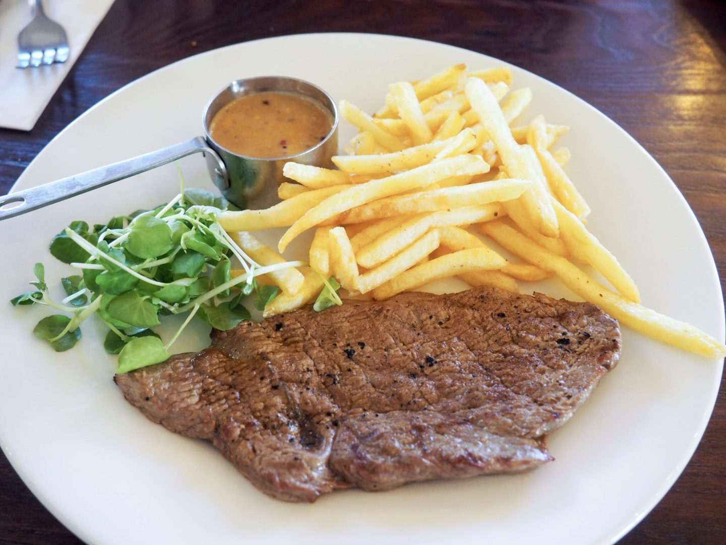 Cafe Rouge 5oz minute rump steak