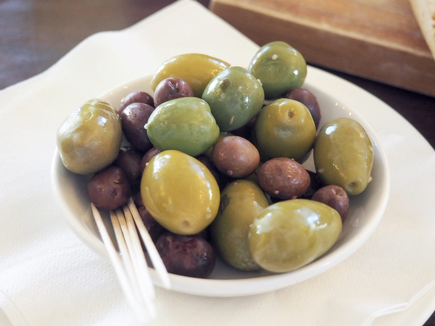 Cafe Rouge olives