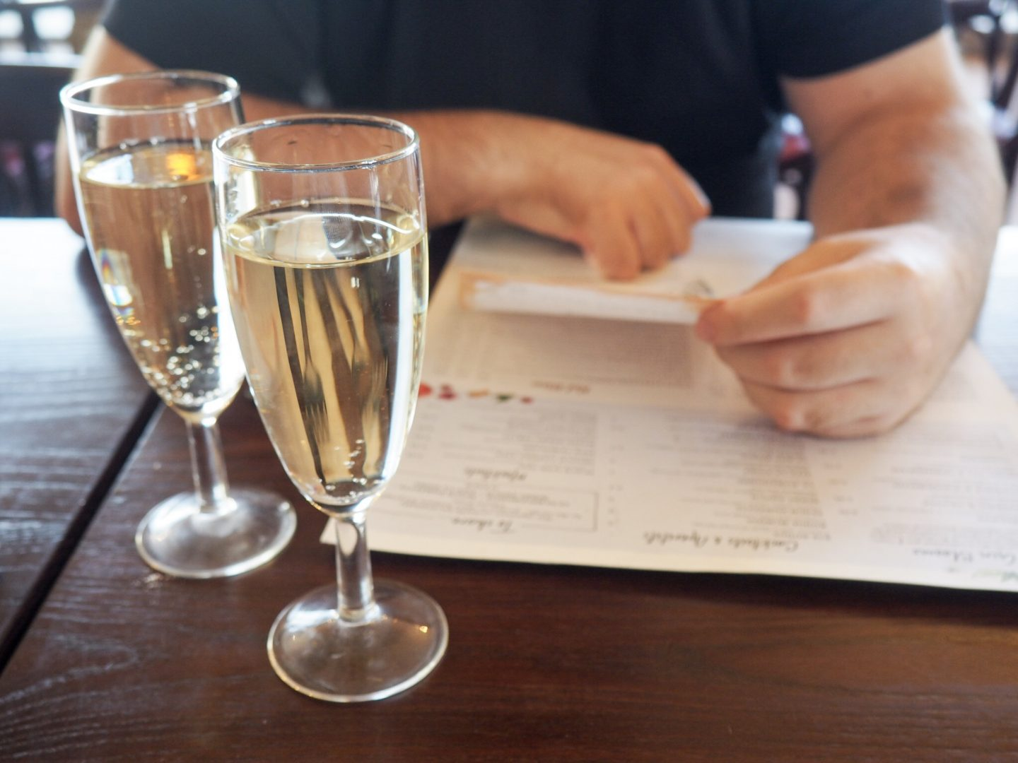Cafe Rouge prosecco