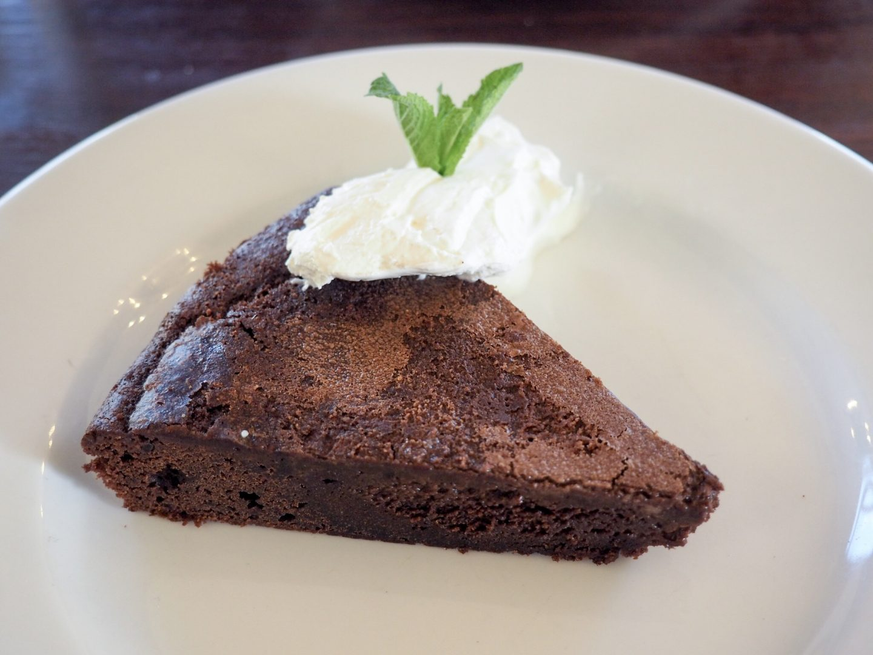 Cafe Rouge tort au chocolat