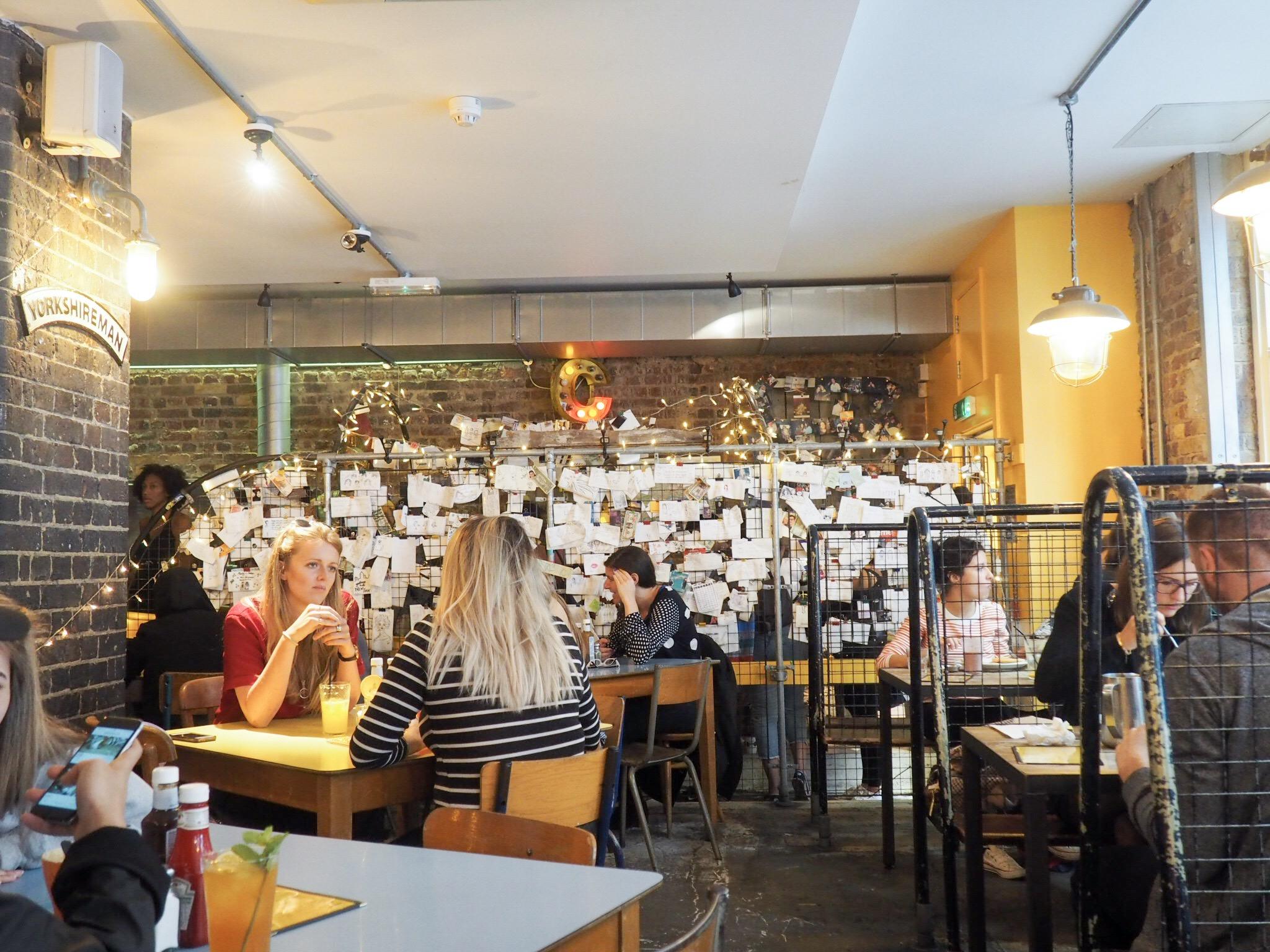 The Breakfast Club Spitalfields market