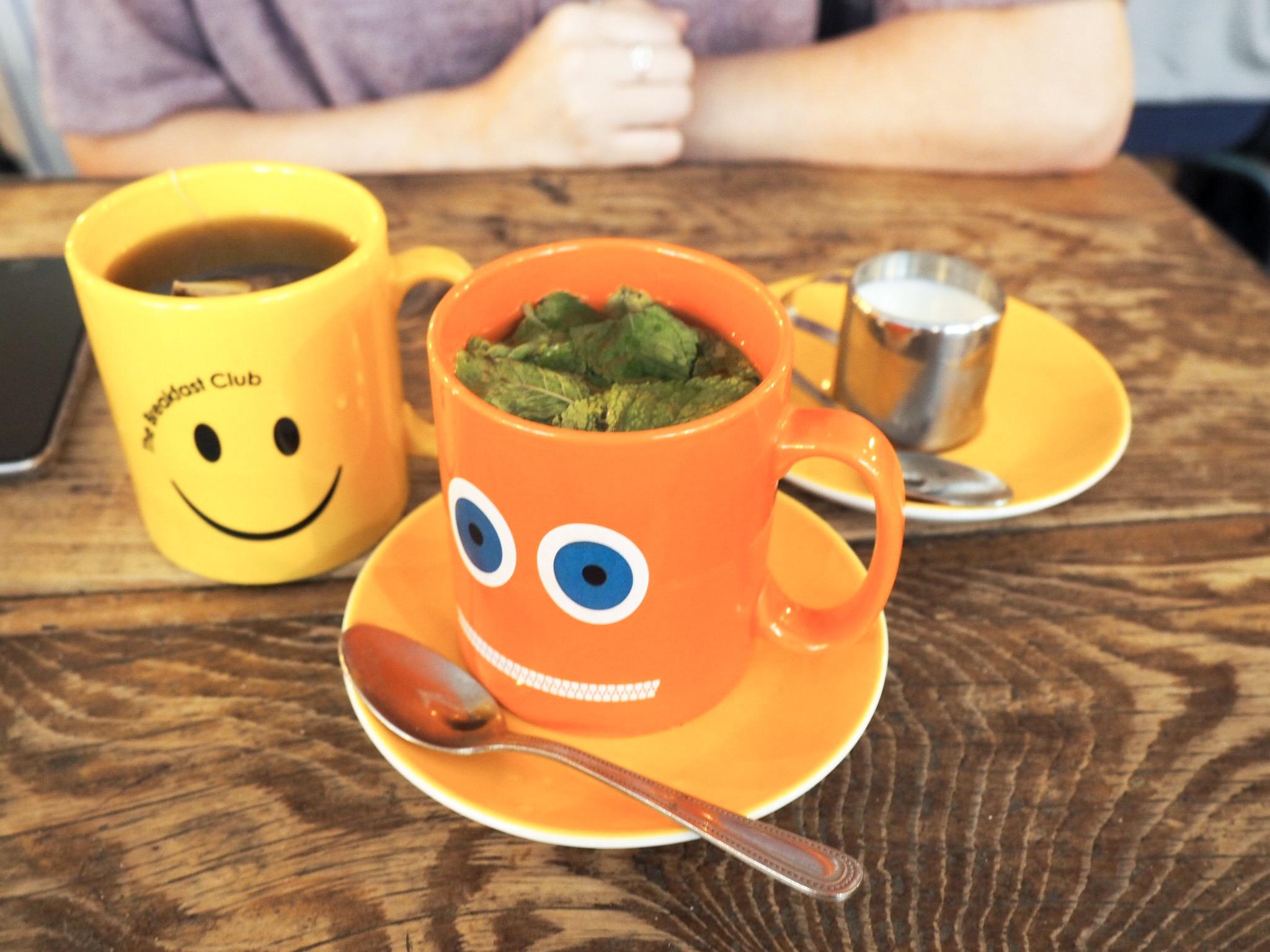 The Breakfast Club mint tea