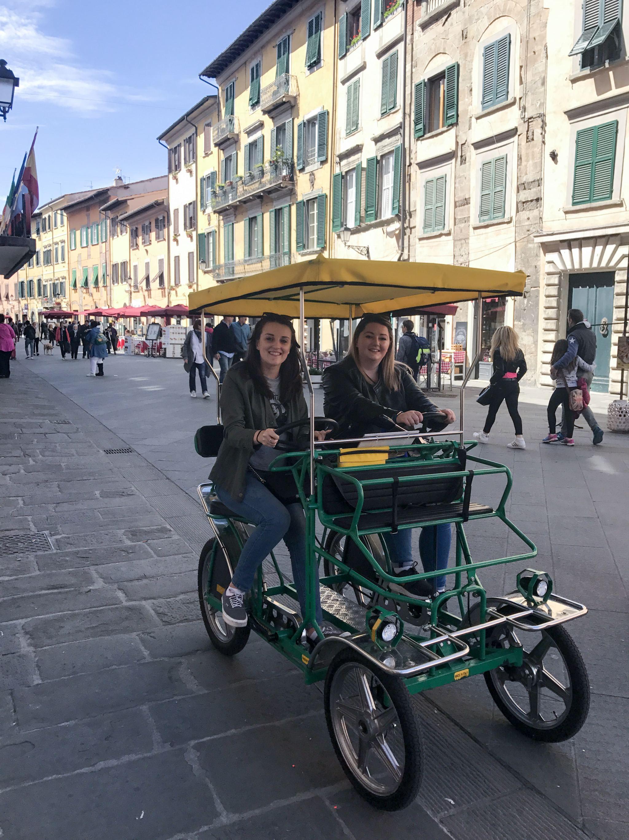 hiring bikes in Pisa
