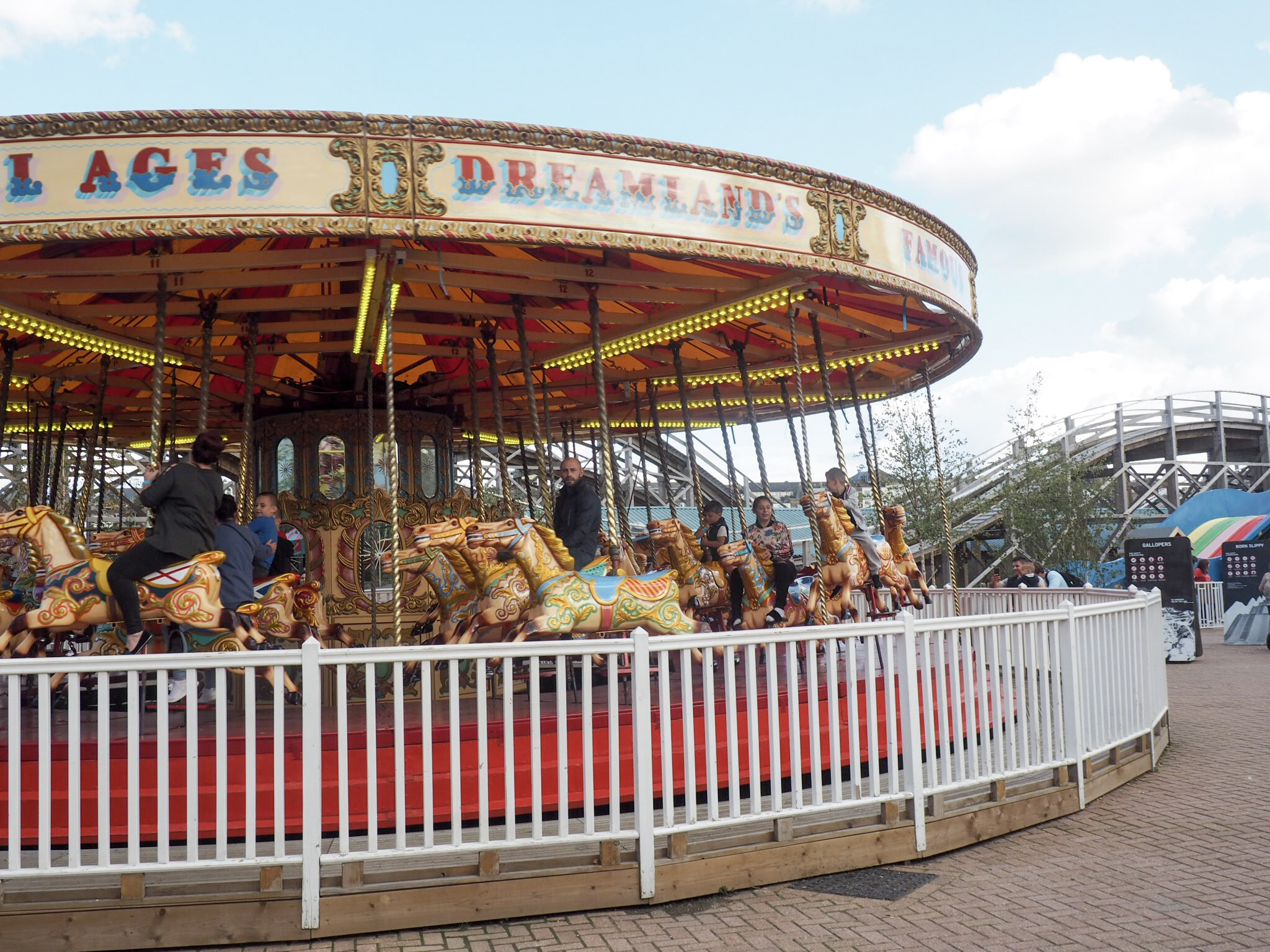 Carousel at Dreamland