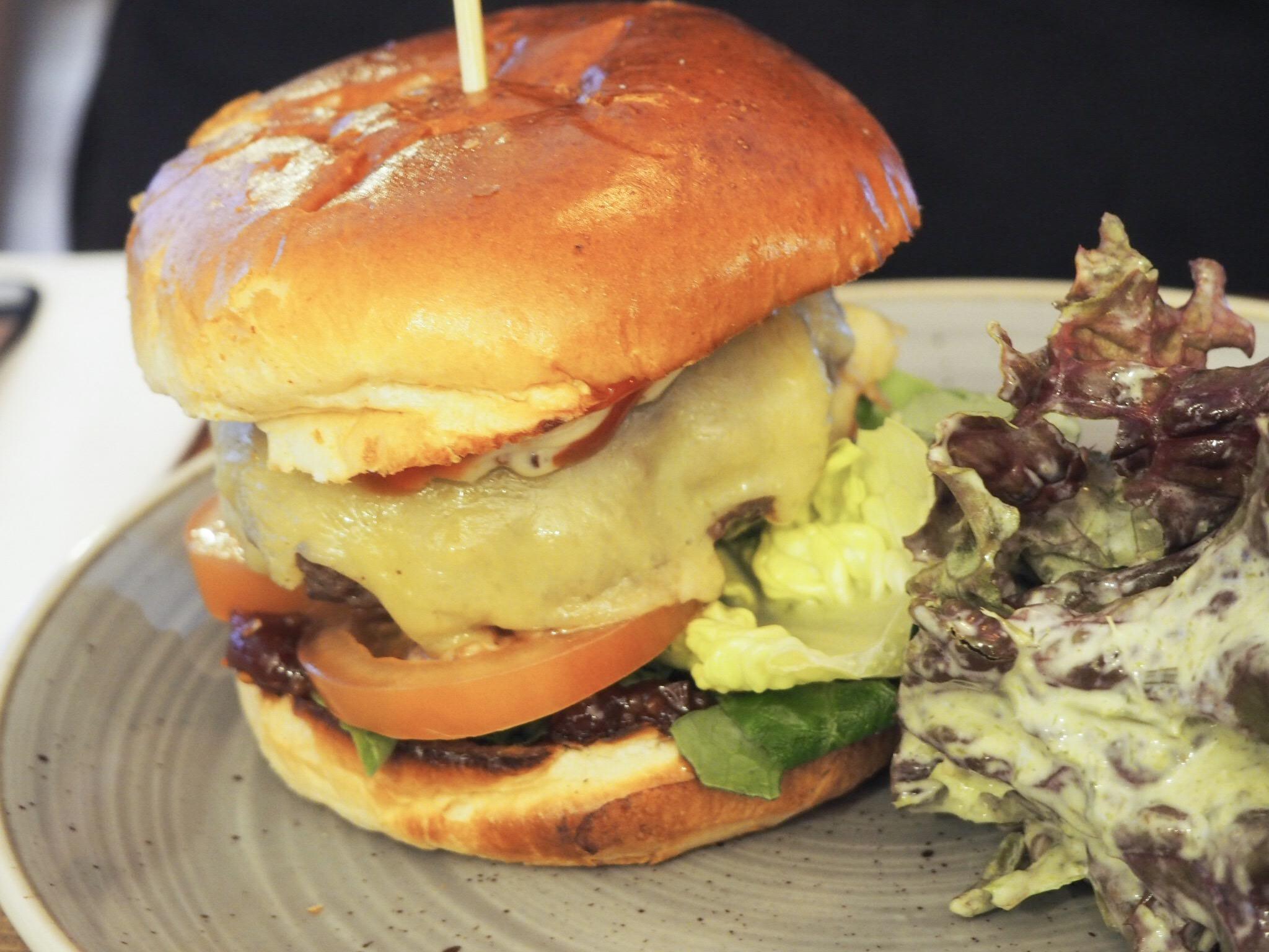 Cinque Ports house beef burger