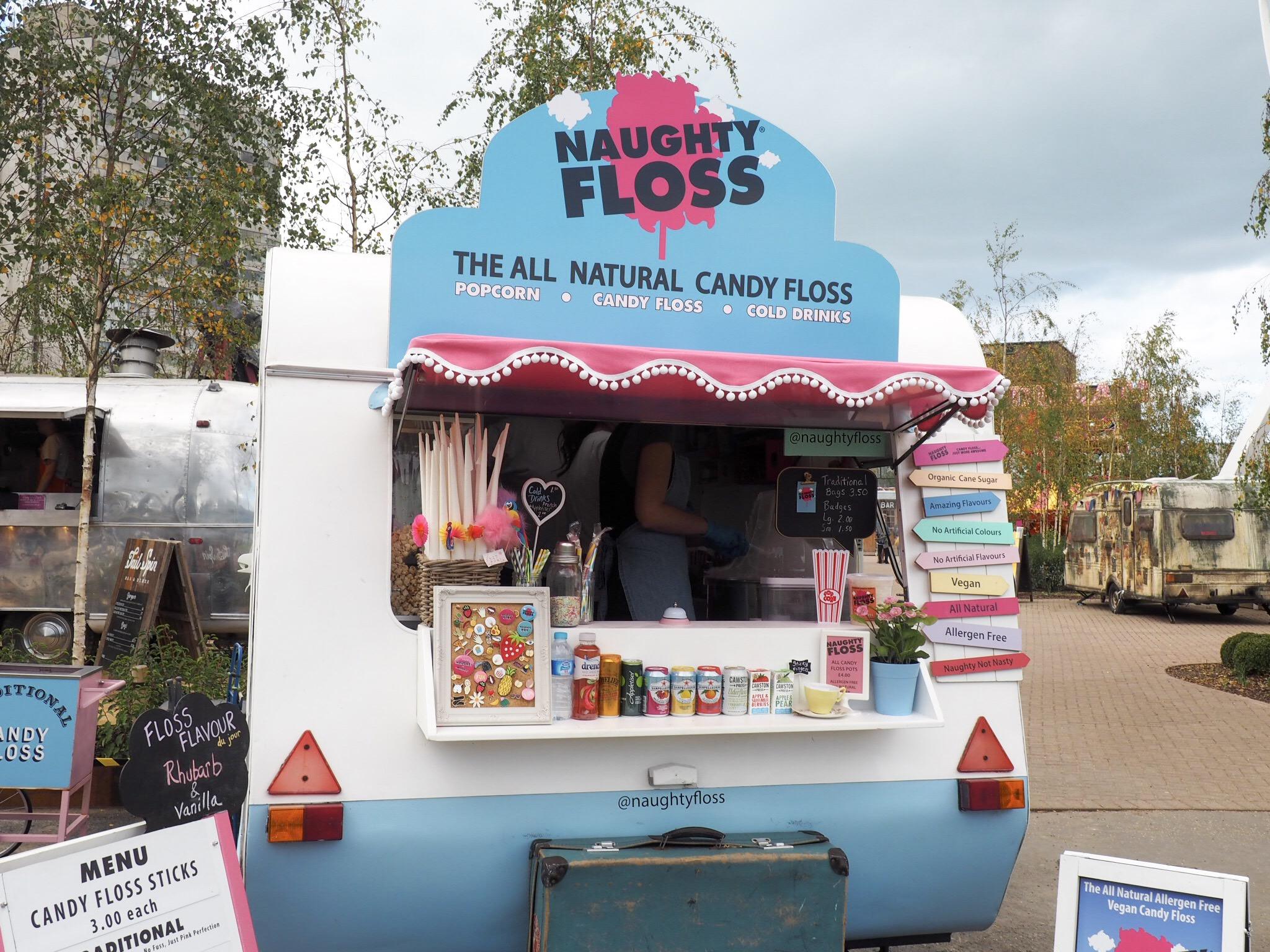 Naughty Floss candy floss