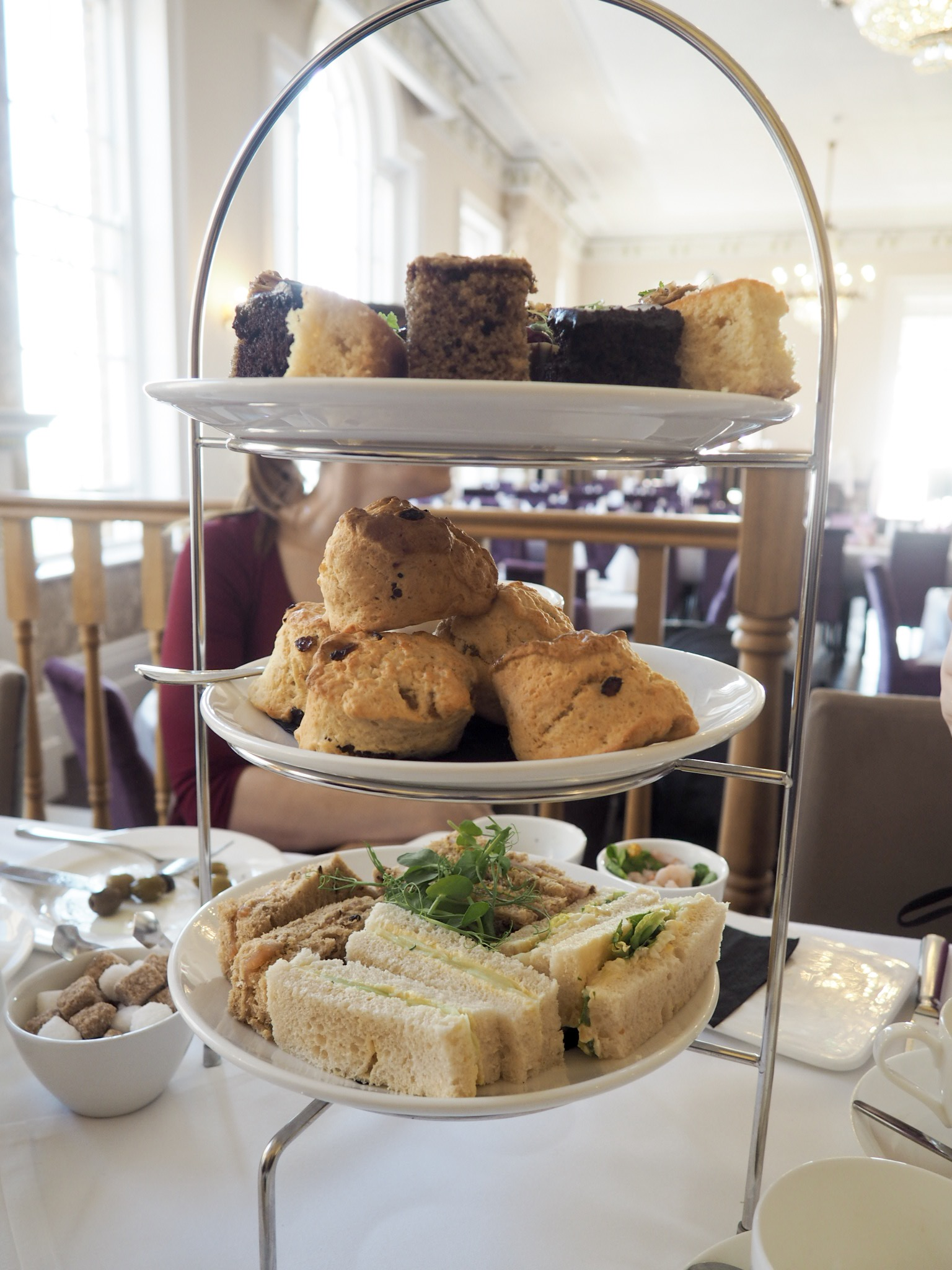 Royal Hotel Southend afternoon tea