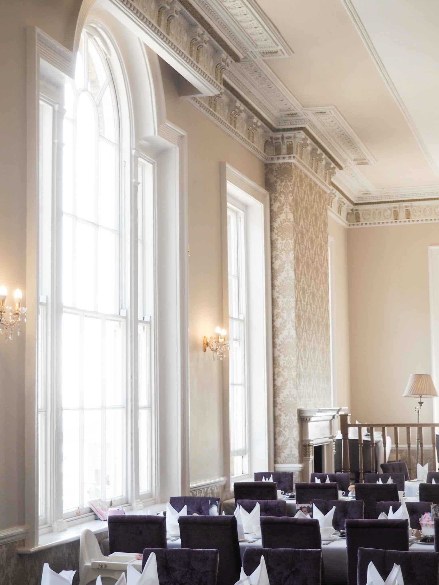 Royal Hotel Southend ballroom decor