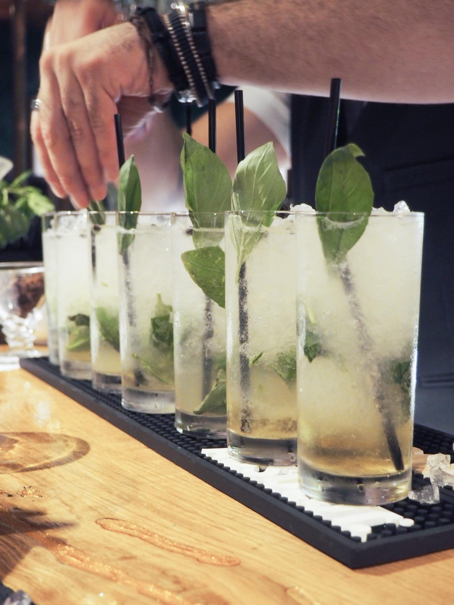 Royal Hotel Southend cocktail menu
