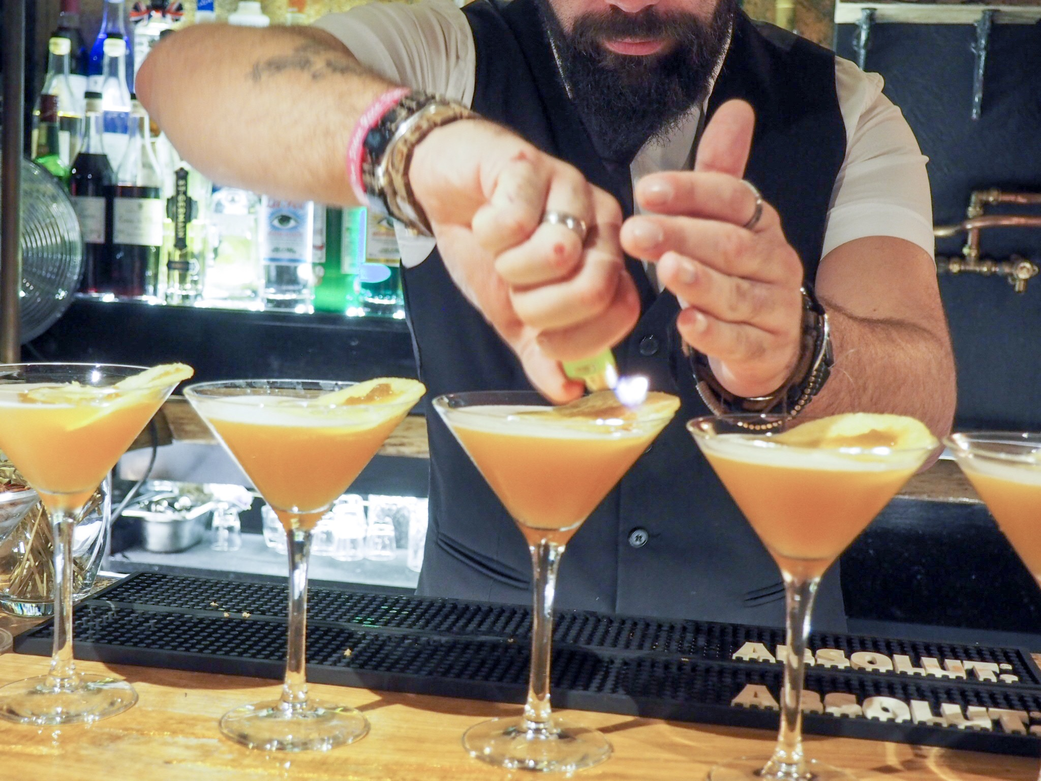Royal Hotel Southend cocktails