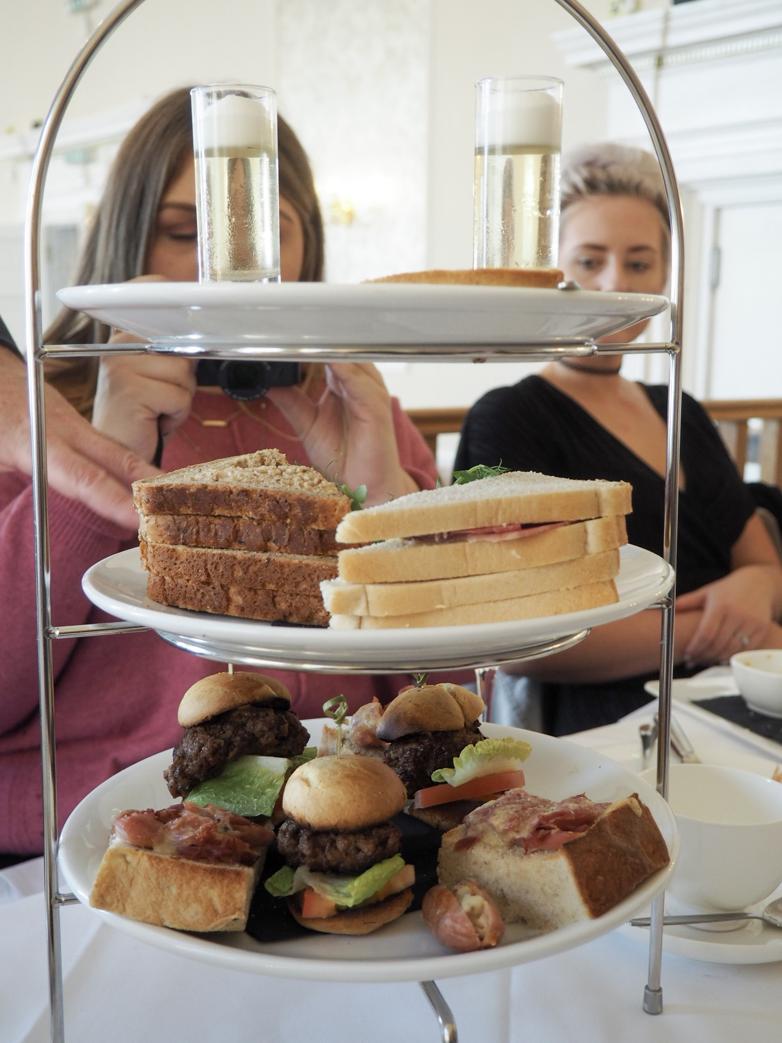 Royal Hotel Southend gentlemen's afternoon tea