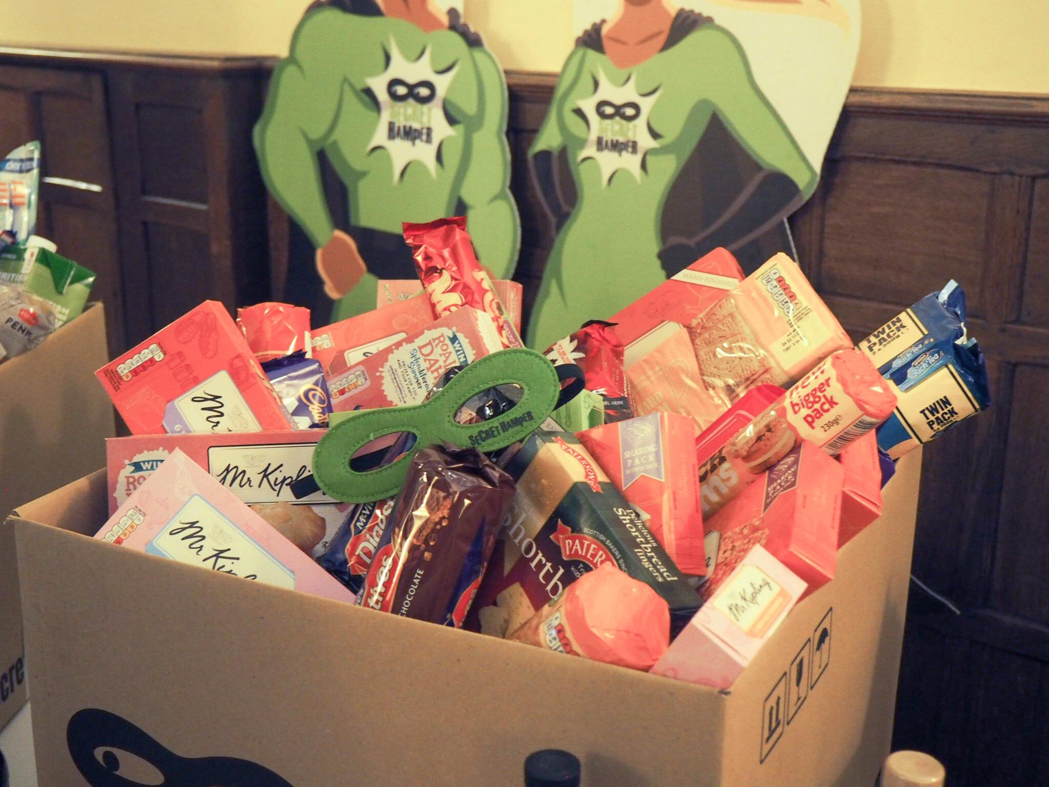 Secret Hamper boxes