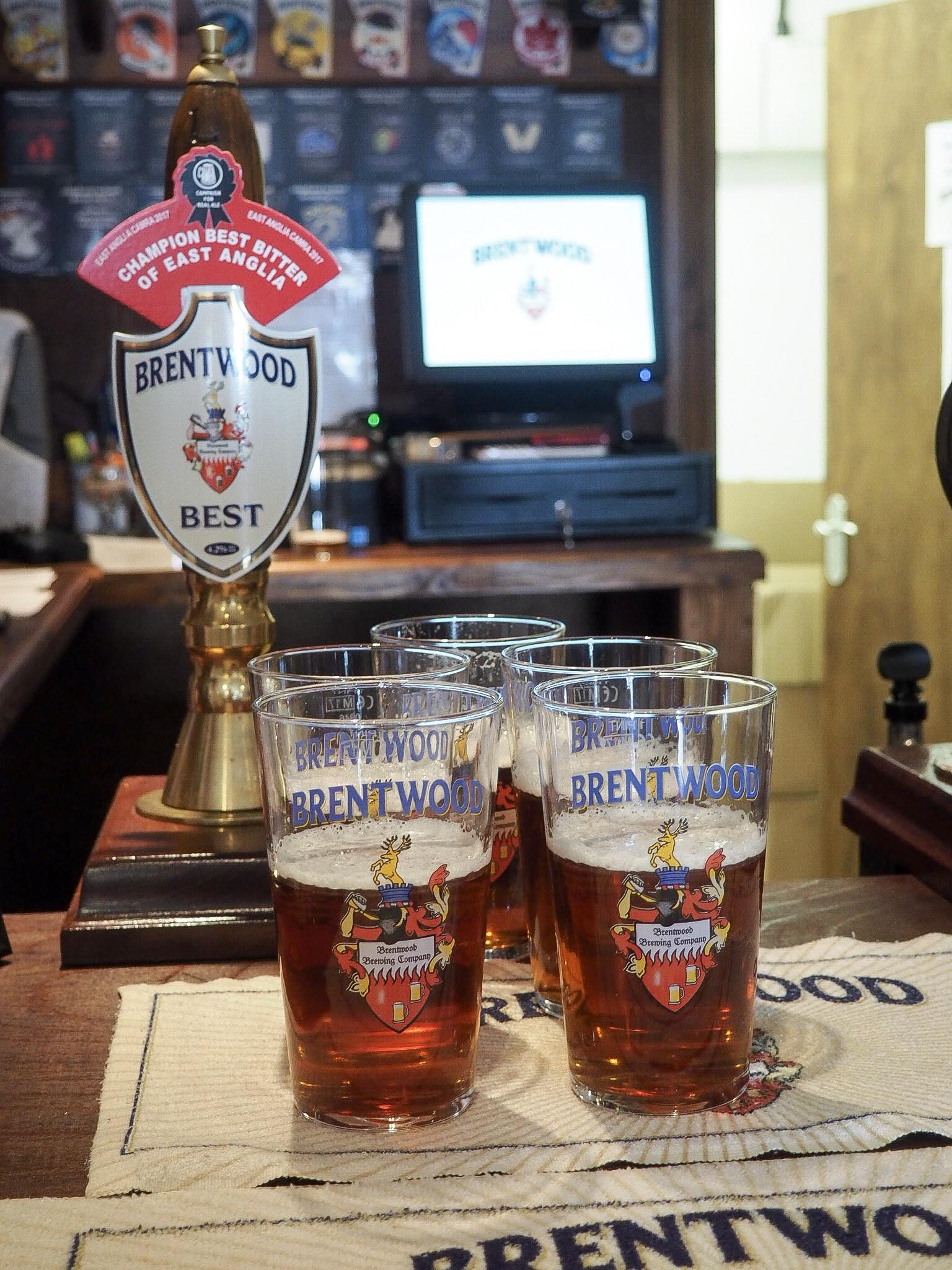 Brentwood Brewery beer