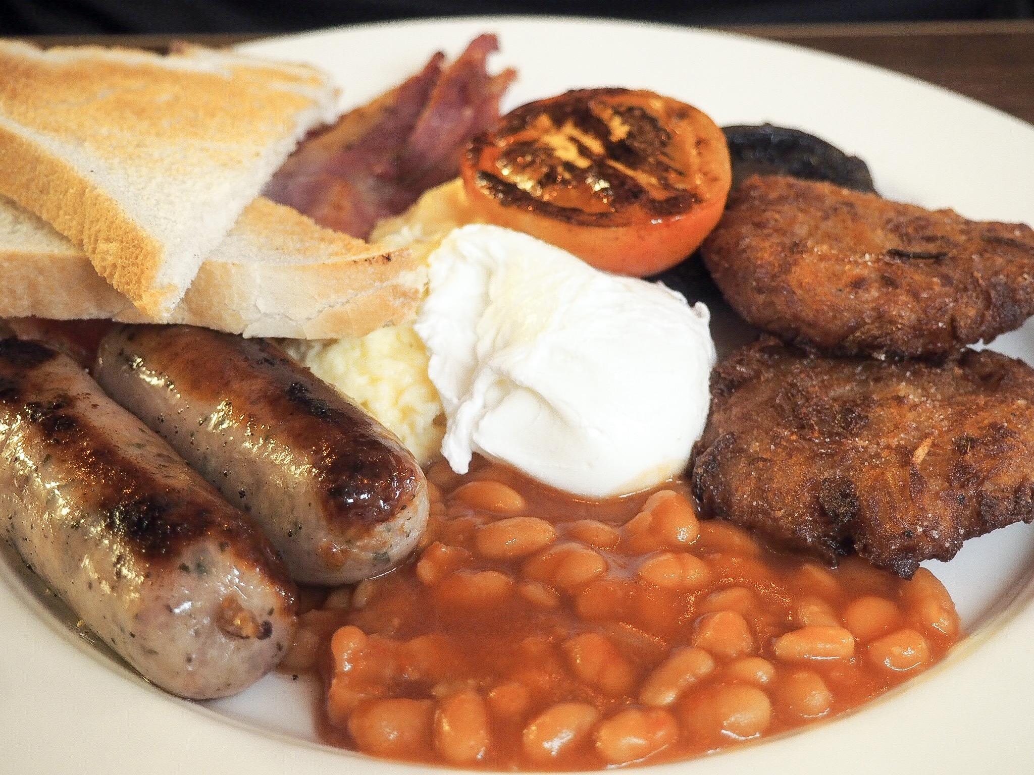 Chop Bloc breakfast