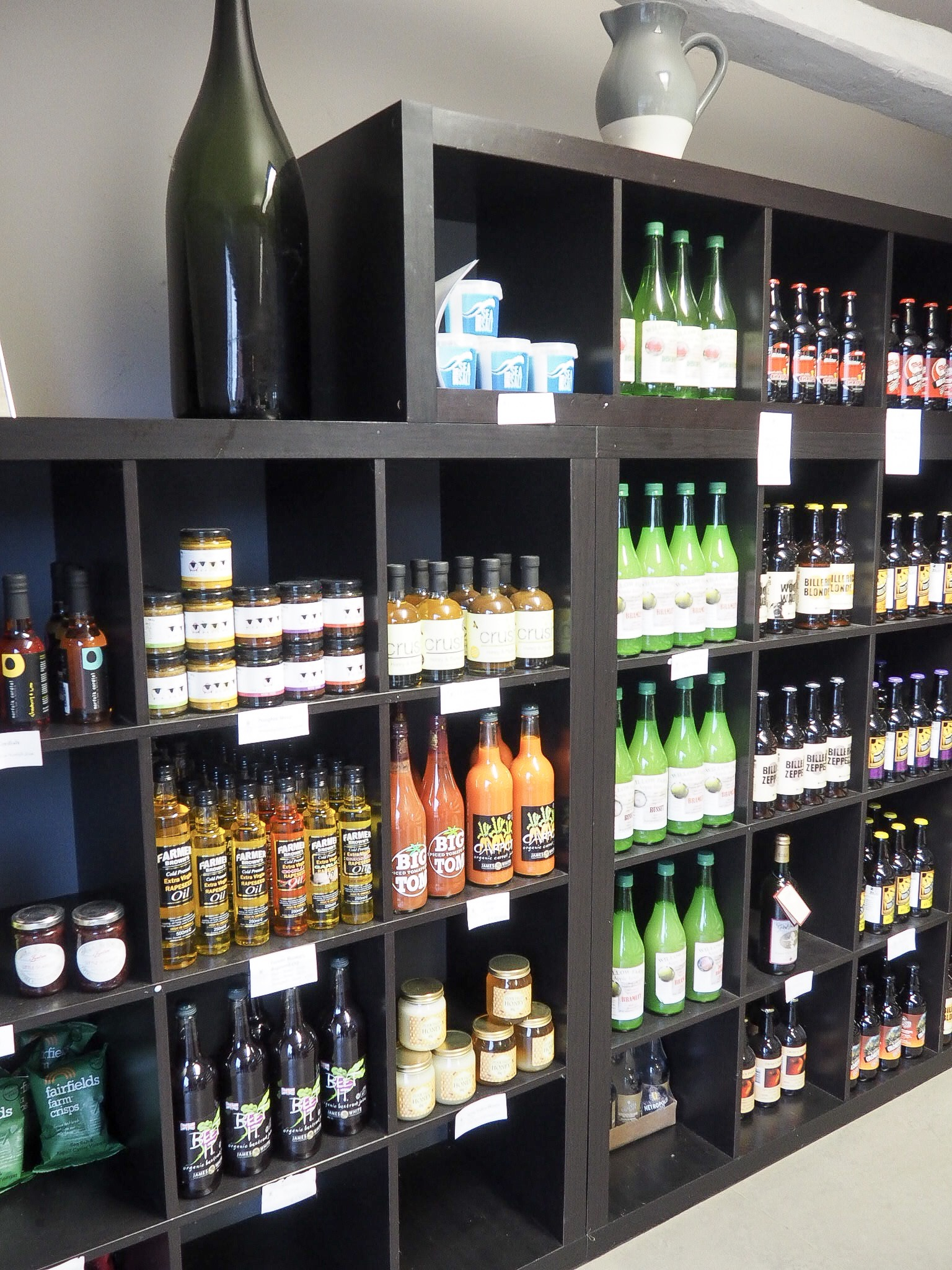Dedham Vale Vineyard wine