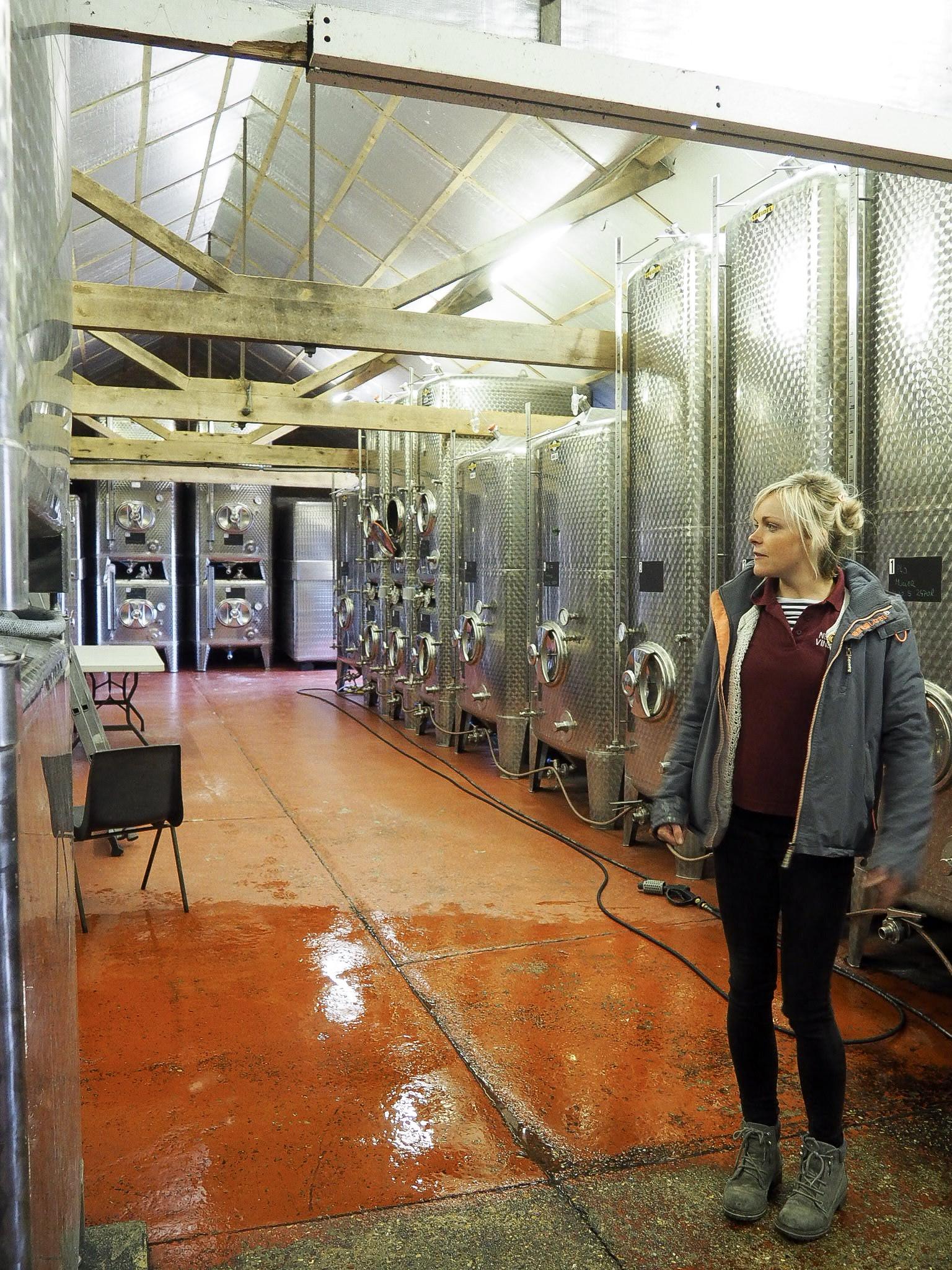 New Hall Vineyard wine
