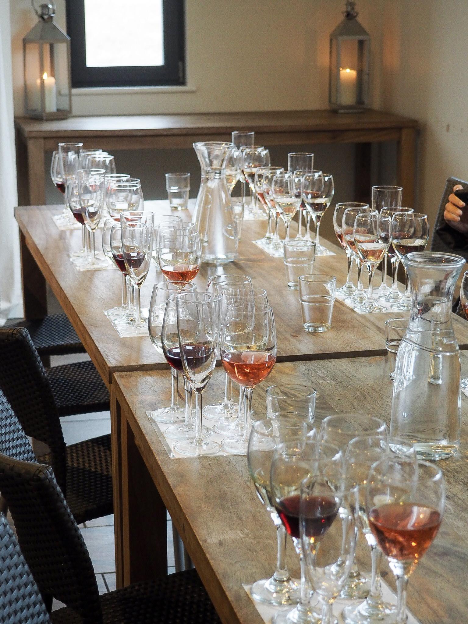 West Street Vineyard wine tasting