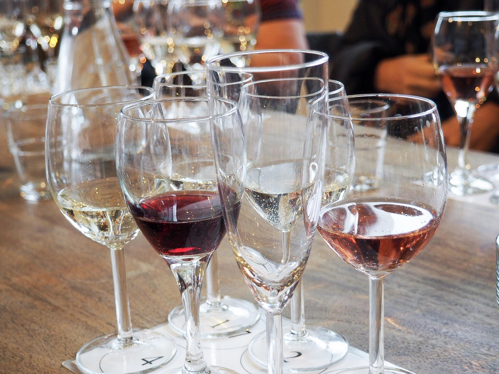 West Street Vineyard wine
