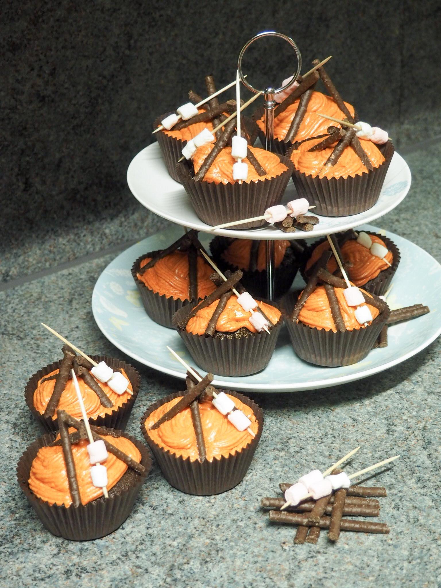 bonfire cake recipe