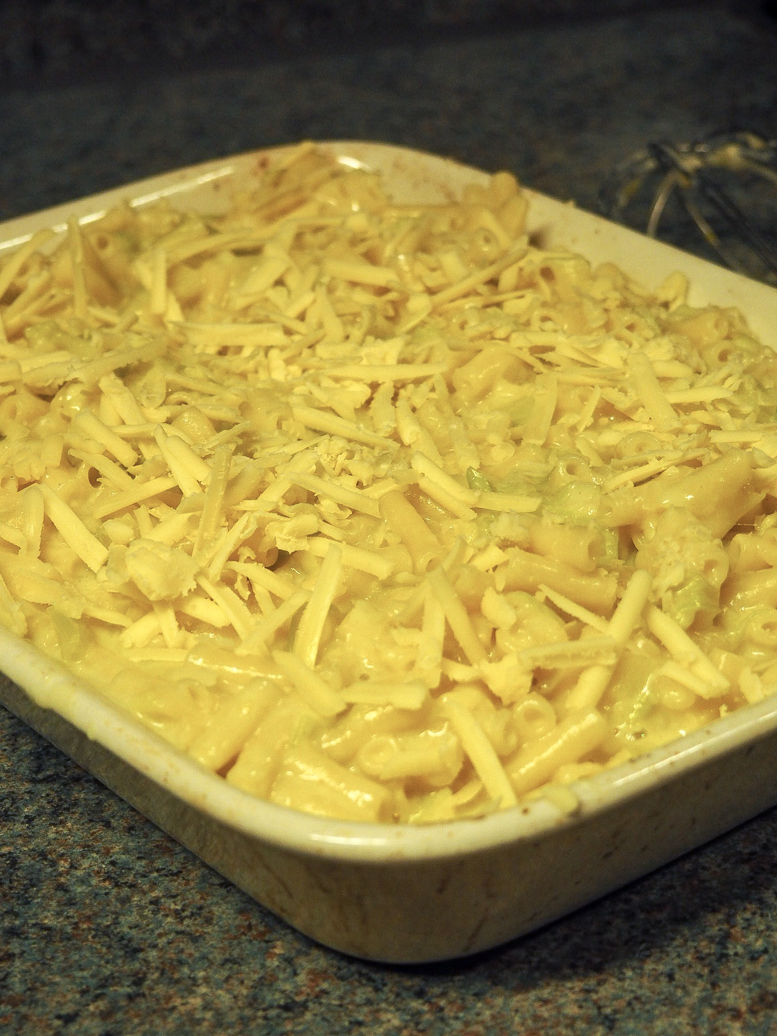 leek mac n cheese