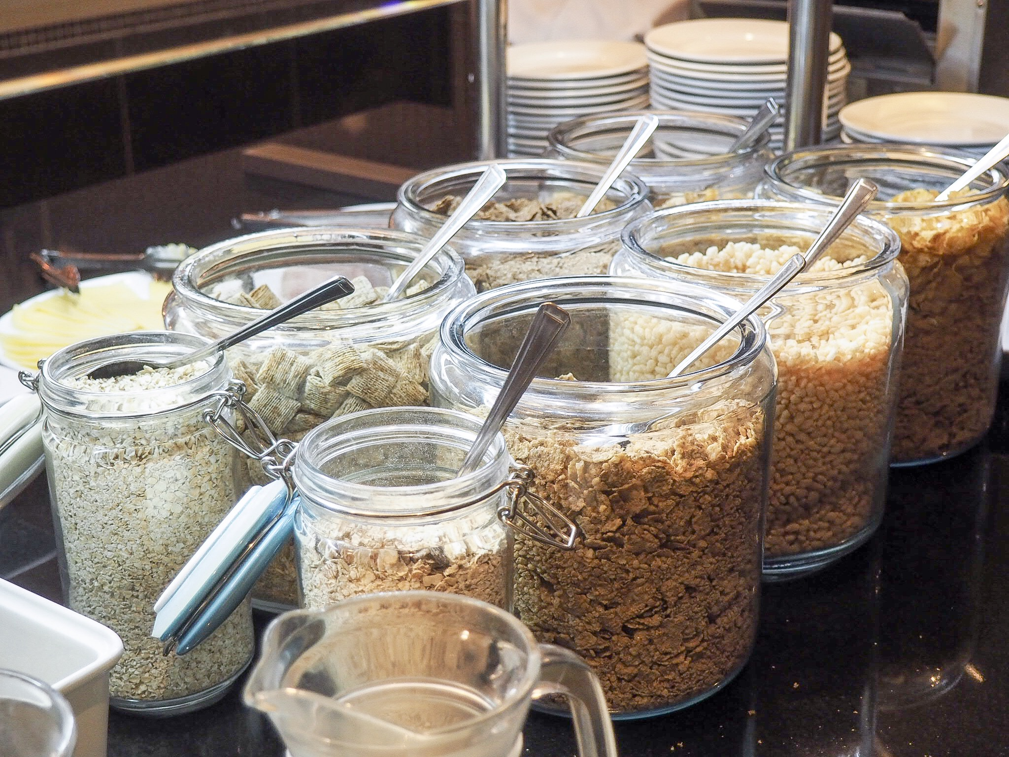 Crowne Plaza Resort Colchester breakfast buffet